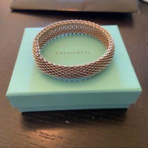 Tiffany & Co Somerset Silver Mesh Bracelet